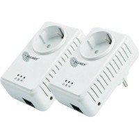 ALLNET Powerline 500Mbit  Starterkit Bridge RJ45, ALL168255 Homeplug AV Passthrough