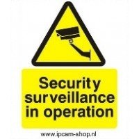 Sticker video surveillance
